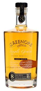 Greenore Irish Whiskey Single Grain Small Batch 8 Year 750ml
